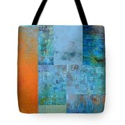 Blue With Orange 2.0 Tote Bag