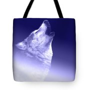 Blue Wolf    -007 Tote Bag