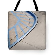 Blue Zone Tote Bag