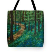Bluebell Forest Tote Bag
