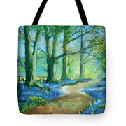 Bluebell Walk Tote Bag