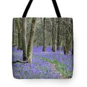 Bluebell Wood Effingham Surrey Uk Tote Bag