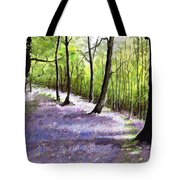 Bluebell Wood Tote Bag