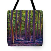 Bluebells And Forest Tote Bag