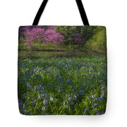 Bluebells And Redbuds Tote Bag