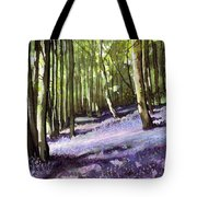 Bluebells At Grimescar Wood Tote Bag