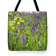 Bluebells In Judy Woods Tote Bag