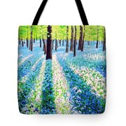 Bluebells In The Woodlands Tote Bag