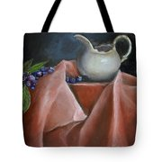 Blueberries And Cream Tote Bag