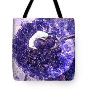 Blueberries For Breakfast Tote Bag