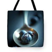 Blueberries Macro Still Life Tote Bag