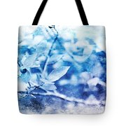 Blueberry Blues Tote Bag