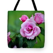Blueberry Hill Roses Tote Bag