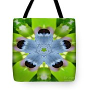 Blueberry Kaleidoscope Tote Bag