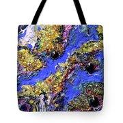 Blueberry Mash Tote Bag