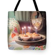 383268541a Blueberry Muffin Birthday Photograph by Denise F Fulmer
