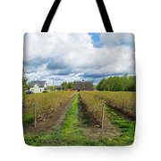Blueberry Rows Tote Bag