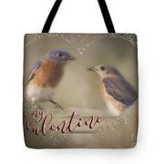 Bluebird Love Tote Bag