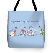 Bluebirds Singing A New Song Bd002 Tote Bag