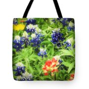 Bluebonnet Bouquet Tote Bag