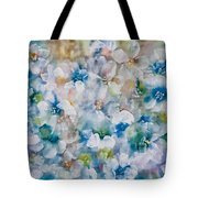 Bluebonnet Tote Bag by Don  Wright