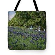 Bluebonnet Field Tote Bag