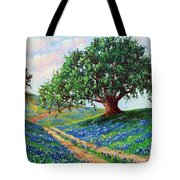 Bluebonnet Road Tote Bag