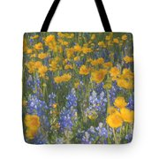 Bluebonnets And Wildflowers Tote Bag