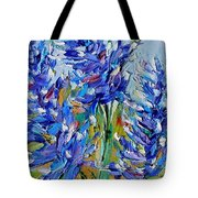 Bluebonnets Of Texas Tote Bag