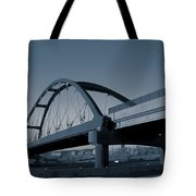 Blued Bridge Tote Bag