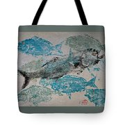 Bluefish Delight - Lunchtime  Tote Bag