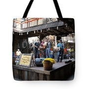 Bluegrass Band Tote Bag