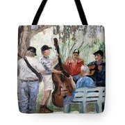 Bluegrass In The Park Tote Bag