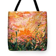 Bluegrass Sunrise - Desert A-left Tote Bag
