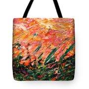 Bluegrass Sunrise - Desert B-right Tote Bag