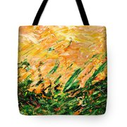 Bluegrass Sunrise - Lemon B-right Tote Bag
