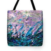 Bluegrass Sunrise - Ocean B-right Tote Bag