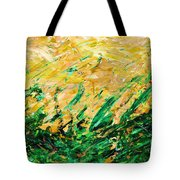 Bluegrass Sunrise - Olive B-right Tote Bag
