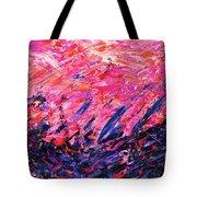 Bluegrass Sunrise - Rose B-right Tote Bag