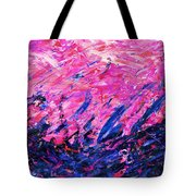 Bluegrass Sunrise - Violet B-right Tote Bag