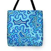 Bluelines_03 Tote Bag
