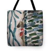 Blues - Tile Tote Bag