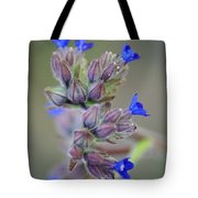 Blues A Bloomin' Tote Bag