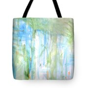 Blues And Greens 2 Tote Bag