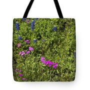 Blues And Pinks Tote Bag