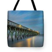 Blues Beach Tote Bag