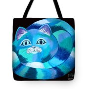 Blues Cat Tote Bag