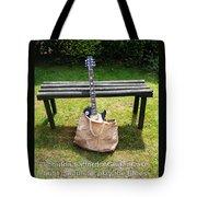 Guitar Blues    Tote Bag