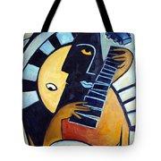 Blues Guitar Tote Bag