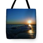 Blues In The Evening Tote Bag